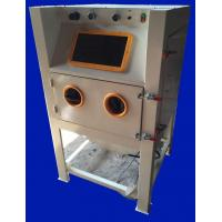 Best Professional Metal Parts Sandblasting Machine Small With Dust Collector wholesale