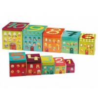 China Alphabet Stacking and Matching Blocks Boxes on sale