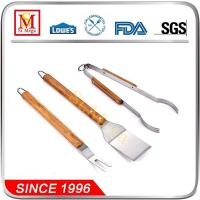 China Wooden Handle BBQ Tools set on sale