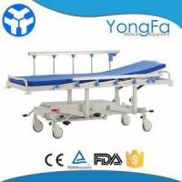 China Simple Hospital Hydraulic Patient Stretcher Trolley Cart For Sale on sale