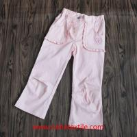 Best Fashion Wide Leg Pants Outdoor Cotton Trousers for Girls wholesale