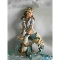 Best Beautiful and Art Fiberglass Mermaid Sculptures as Garden Decoration wholesale
