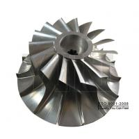 Buy cheap Five-axis Machining Aluminum Impeller Products from wholesalers