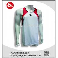 Best Polyester Running Vest Sports running T-shirt for men and women wholesale
