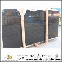 Buy cheap Beautiful Black Sandalwood Marble Slabs For Bathroom Flooring Tiles from wholesalers