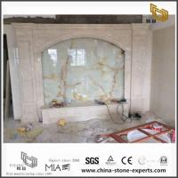 Buy cheap Chinese Nature Multicolor Marble Backgrounds for Hall,Bathroom Wall Design from wholesalers