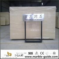 Buy cheap Italian Roman Travertine Slab For Bathroom Flooring Tile Countertops With Luxury Good Quality from wholesalers