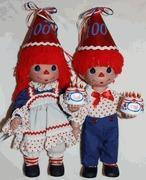 Buy cheap Centennial Celebration - Raggedy Ann & Andy 100th Birthday Party Dolls by Precious Moments from wholesalers