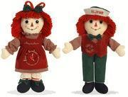 Buy cheap Raggedy Ann & Andy Love is Timeless Christmas Holiday 2016 Dolls by Aurora from wholesalers