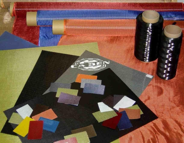Cheap Colored fiber mixed fabric for sale