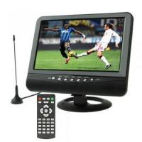 Buy cheap 9.5 inch TFT LCD color Analog TV with wide view angle Support SD/MMC Card USB Flash disk AV In/AV Ou product