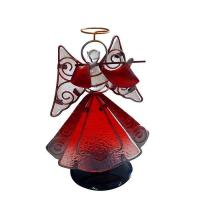 Best metal stained glass Angel holder Wholesale Home Decoration wholesale
