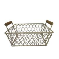 Buy cheap metal Basket handles for storage decoration from wholesalers