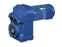 Cheap TF series parallel shaft helical speed reducer for sale