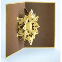 Buy cheap Handmade Christmas craft ideas: Star pup up card tutorial from wholesalers
