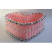 Buy cheap Holiday crafts Unique valentine heart box from wholesalers