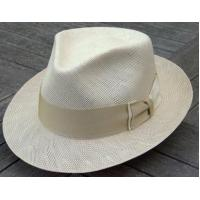 Buy cheap MEN'S HATS Danville Shantung Fedora in Ivory & Tan by Biltmore from wholesalers