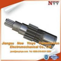 Best NYY Standard or Nonstandard Nonstandard high quality forged involute gear shaft wholesale