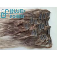 Best Double Drawn Clip In Brazilian Hair Extension Large Stocks Any Color Size 8-30inch Customization Ava wholesale