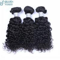 Buy cheap 2016 Hot Selling High Quality Deep Curly Soft Indian Virgin Hair Thick Bundles from wholesalers