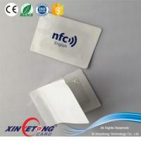 China NFC Tag Ideas 3M adhesive Anti-metal NFC Sticker NFC APP Ntag216 full color NFC Sticker on sale
