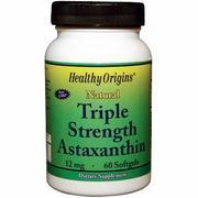 Buy cheap Triple Strength Astaxanthin, 12 mg, 60 Softgels, Healthy Origins from wholesalers