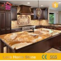 China Italian Polishing Crema and Calacatta Marble Countertops for Kitchen with Great Price on sale