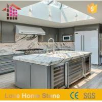 China Custom White and Carrara Marble Kitchen Marble Countertops with Good Quality on sale
