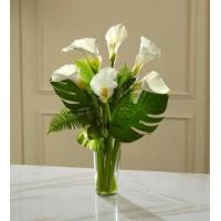 Best Sympathy Flowers The FTD Always Adored Calla Lily Bouquet wholesale