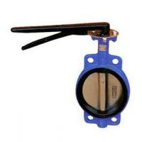 China D71X wafer soft seat butterfly valve on sale