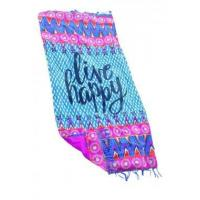 Best Live Happy Beach Towel Blankets LC42112-22 wholesale
