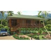 Best Light Steel Framing Wooden Bungalow / High Acoustic Insulation Home Beach Bungalows wholesale