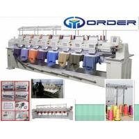 Best China embroidery machine computerized, cap embroidery machine for 8 Head embroidery machine wholesale
