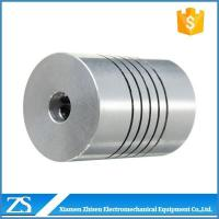 China Flexible Coupling Stepper Motor Helical Flexible Shaft Beam Couplings on sale