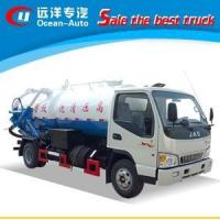China JAC 4X2 4500Liters Sewage Cleaning Truck on sale