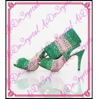 Best Aidocrystal handmade Italy shoes and bags to match women african shoes and bags set wholesale