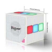 Buy cheap New magic cube 36 LED Light flashing wireless bluetooth speaker with tf card support product
