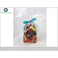 China Small Clear Cellophane Bag With Gusset BOPP Clear Cellophane Bottle Bags Cellophane Basket Bag on sale