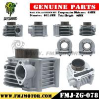 Best Modified Scooter Engine Block GY6 125CC High Performance CYLINDER Bore with Golden Net Design wholesale