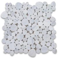 Buy cheap Good Price Carrara Marble Mosaic Tiles Heart Shaped Marble from Italy from wholesalers