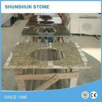China Natural Stone Santa Cecilia Light Granite Bathroom Vanity Top with Sink on sale