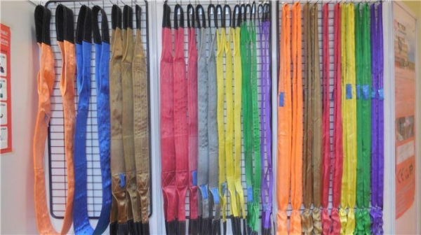 Cheap Lighter and More Flexible Dyneema Webbing Lifting Slings for Heavy Duty Use for sale