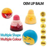 China Moisturizing Organic Color Fruit Flavor Natural Lip Balm on sale