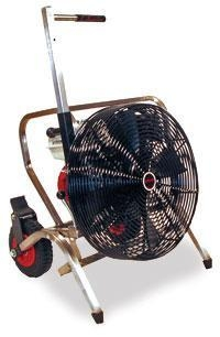 China Structural Unifire 5.5 H.P Positive Pressure Ventilation Fan with Wheels and Handle
