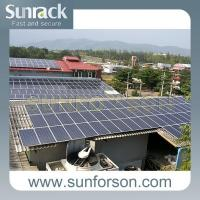 Best Cheap Solution Corrugated Tin Roof Solar Racking System wholesale