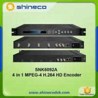 Buy cheap MPEG4 H.264 HD-SDI Encoder Multicast and Unicast IPTV product