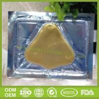 China Free Samples OEM and ODM Gold Powder Black Head Remove Nose Mask on sale