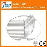 China BBQGrillGrates Half Hinged Grate for Barrel and Drum Smokers on sale