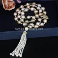 Best Upmarket Fresh Water Pearl Necklace with Tassel wholesale