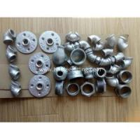 Best Galvanized Malleable iron elbow pipe fittings wholesale